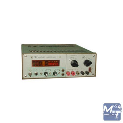 Универсальный вольтметр B7-16A используется для проведения измерений напряжений переменного и постоянного токов